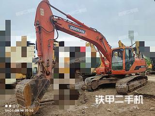 广西-南宁市二手斗山DH220LC-7挖掘机实拍照片