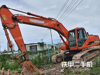 溫州斗山DH220LC-7挖掘機實拍圖片