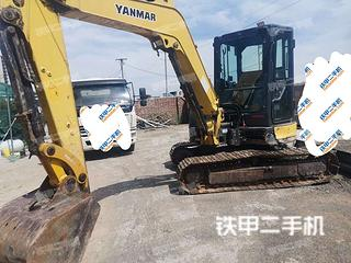 洋馬Vio55-6B挖掘機實拍圖片
