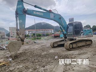 浙江-温州市二手神钢SK260LC-8挖掘机实拍照片