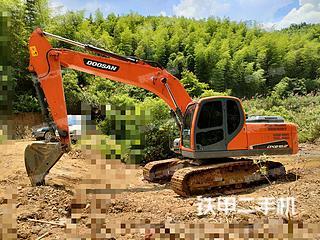 湖南-郴州市二手斗山DX215-9C挖掘机实拍照片