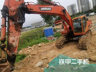 青島斗山DH300LC-7挖掘機實拍圖片