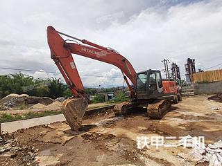 德宏日立ZX240-3挖掘機實拍圖片