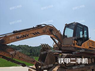 襄陽三一重工SY135C-8挖掘機實拍圖片