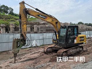 四川-宜宾市二手三一重工SY135C挖掘机实拍照片