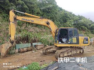 江西-景德镇市二手小松PC200-8N1挖掘机实拍照片