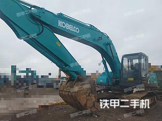 云南-昆明市二手神钢SK260LC-8挖掘机实拍照片