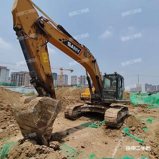 陕西-西安市二手三一重工SY265C挖掘机实拍照片