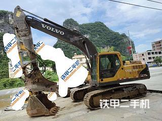 广西-河池市二手沃尔沃EC210BLC挖掘机实拍照片