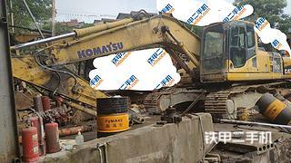 湖北-宜昌市二手小松PC210LC-8挖掘机实拍照片