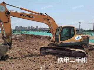 安阳现代R225LC- 9挖掘机实拍图片
