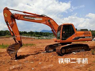 湖南-郴州市二手斗山DH215-9E挖掘机实拍照片