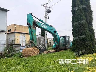 青島神鋼SK260LC-10挖掘機實拍圖片