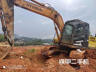 湖南-益阳市二手现代R150LC-7挖掘机实拍照片