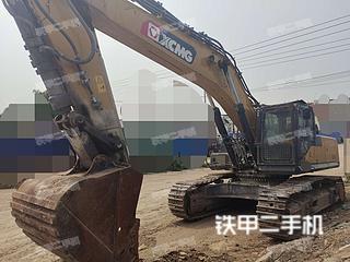 山东-青岛市二手徐工XE470D挖掘机实拍照片