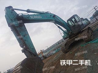 青島神鋼SK350LC-8挖掘機實拍圖片