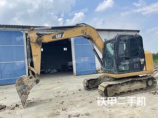 湖北-荆门市二手卡特彼勒307E2小型液压挖掘机实拍照片