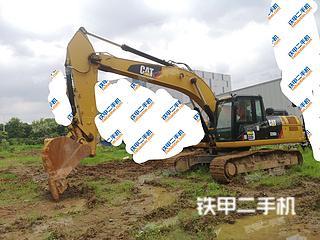 江苏-南京市二手卡特彼勒326D2L液压挖掘机实拍照片