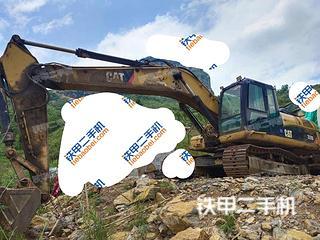 贵州-六盘水市二手卡特彼勒329D挖掘机实拍照片