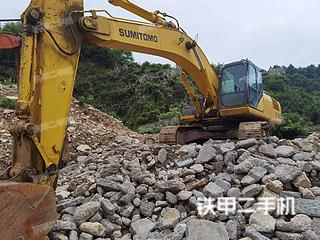 佛山住友SH350HD-5挖掘機實拍圖片