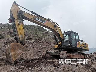 四川-宜宾市二手三一重工SY265C挖掘机实拍照片