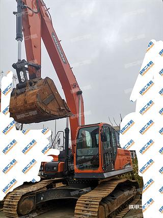 湖南-长沙市二手斗山DX260LC-9C挖掘机实拍照片