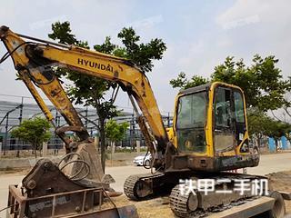 安徽-宿州市二手现代R60-7挖掘机实拍照片