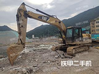 浙江-温州市二手卡特彼勒320DGC液压挖掘机实拍照片