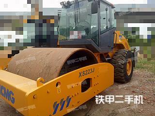 安徽-蚌埠市二手徐工XS222压路机实拍照片