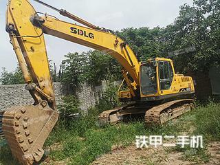 陕西-渭南市二手山东临工LG6250挖掘机实拍照片