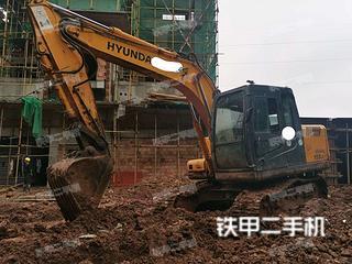 四川-内江市二手现代R110-7挖掘机实拍照片