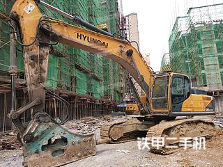 湖南-永州市二手现代R385LVS挖掘机实拍照片
