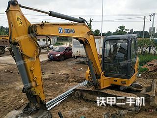 山东-青岛市二手徐工XE60挖掘机实拍照片
