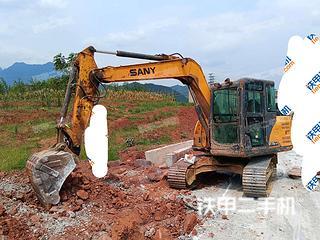 四川-泸州市二手三一重工SY75C挖掘机实拍照片