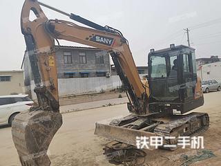 河北-石家庄市二手三一重工SY55C挖掘机实拍照片
