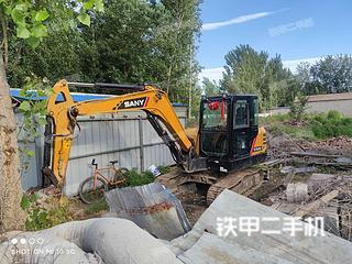 河北-廊坊市二手三一重工SY55C挖掘机实拍照片