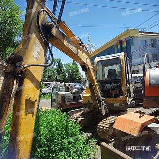 北京-北京市二手玉柴YC35-6挖掘机实拍照片
