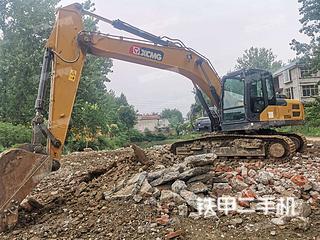安徽-阜阳市二手徐工XE205DA挖掘机实拍照片