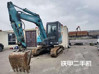 浙江-宁波市二手山河智能SWE60E挖掘机实拍照片