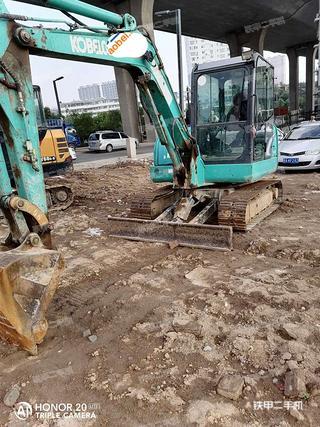 神鋼SK60-8挖掘機實拍圖片