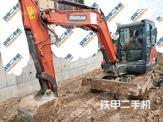 陕西-宝鸡市二手斗山DX55-9CN挖掘机实拍照片
