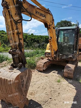 福建-福州市二手现代R60-7挖掘机实拍照片