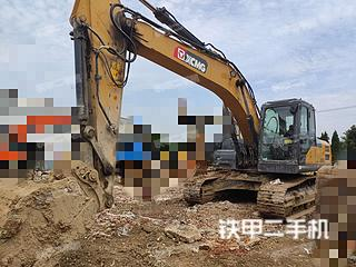 安徽-蚌埠市二手徐工XE200DA挖掘机实拍照片