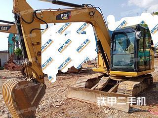 云南-文山壮族苗族自治州二手卡特彼勒307E液压挖掘机实拍照片