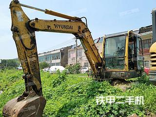 江苏-南京市二手现代R60-7挖掘机实拍照片