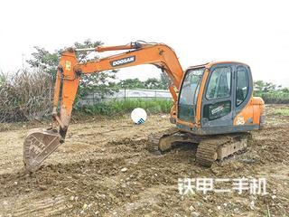 安徽-合肥市二手斗山DX75挖掘机实拍照片