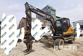 德州德州寶鼎BD95W-9挖掘機實拍圖片