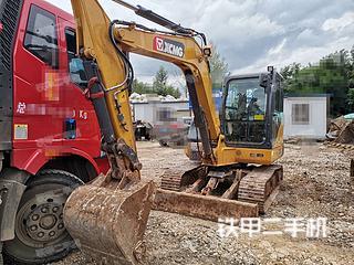 云南-昆明市二手徐工XE60D挖掘机实拍照片