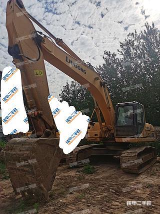 山西-太原市二手柳工CLG925D挖掘机实拍照片