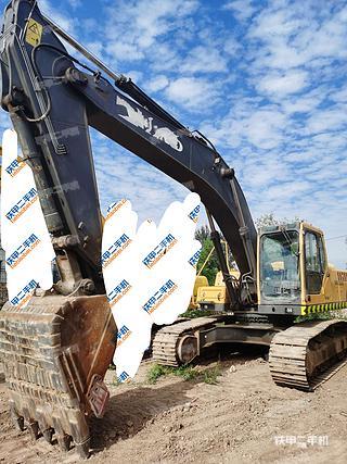 山西-太原市二手沃尔沃EC290BLC挖掘机实拍照片
